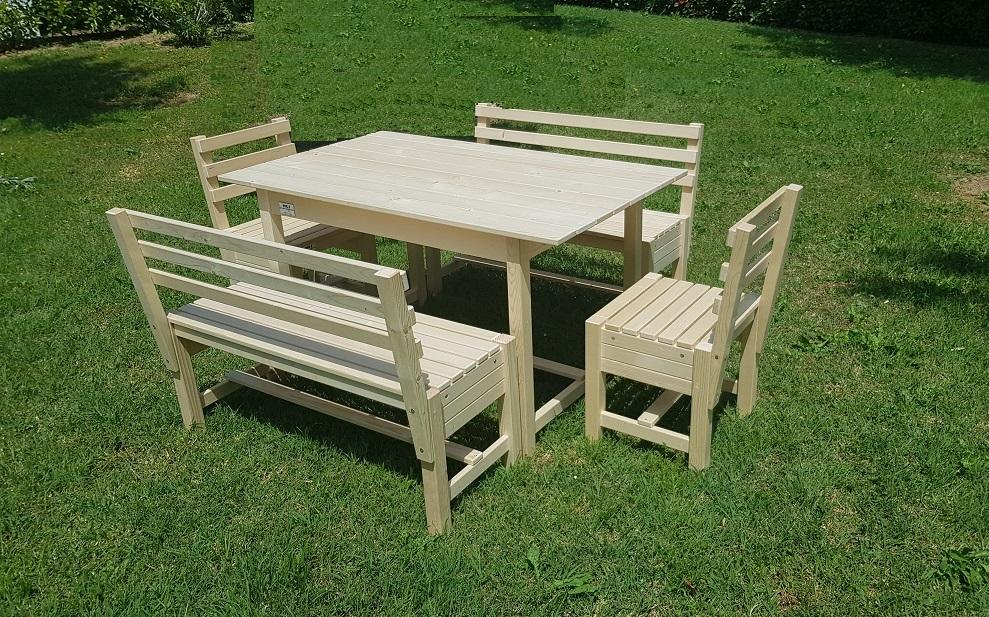 arredo giardino in legno